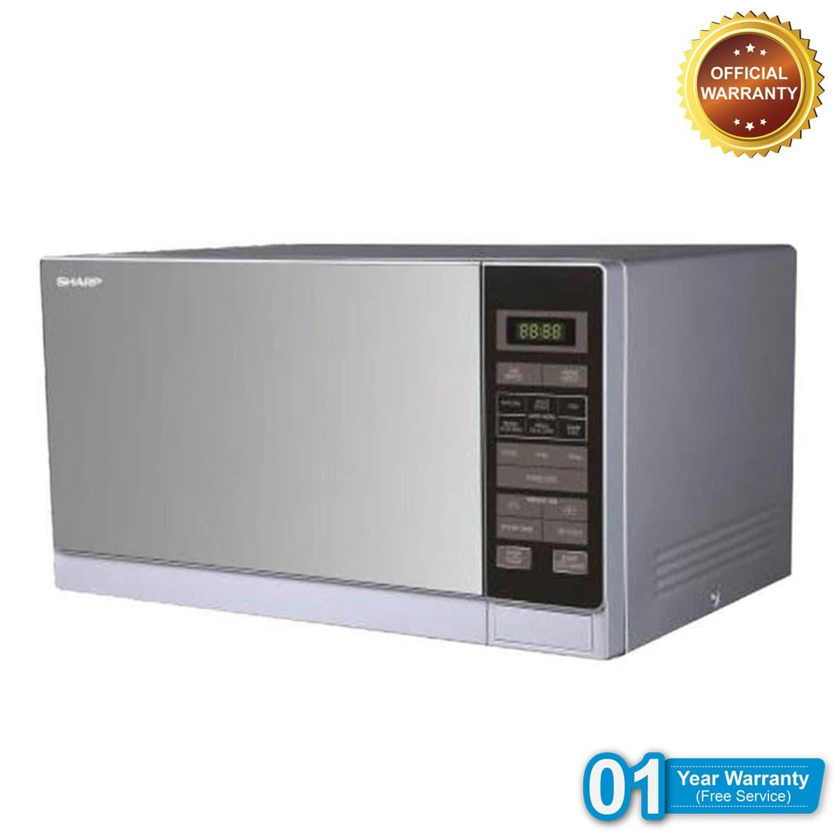Sharp R 32a0 Sm V Microwave Oven 25l Silver