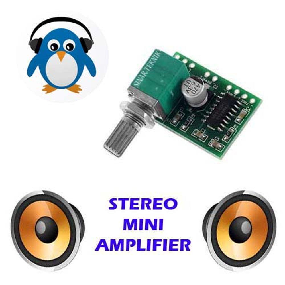 PAM8403 Digital Amplifier 3W Dual Channel