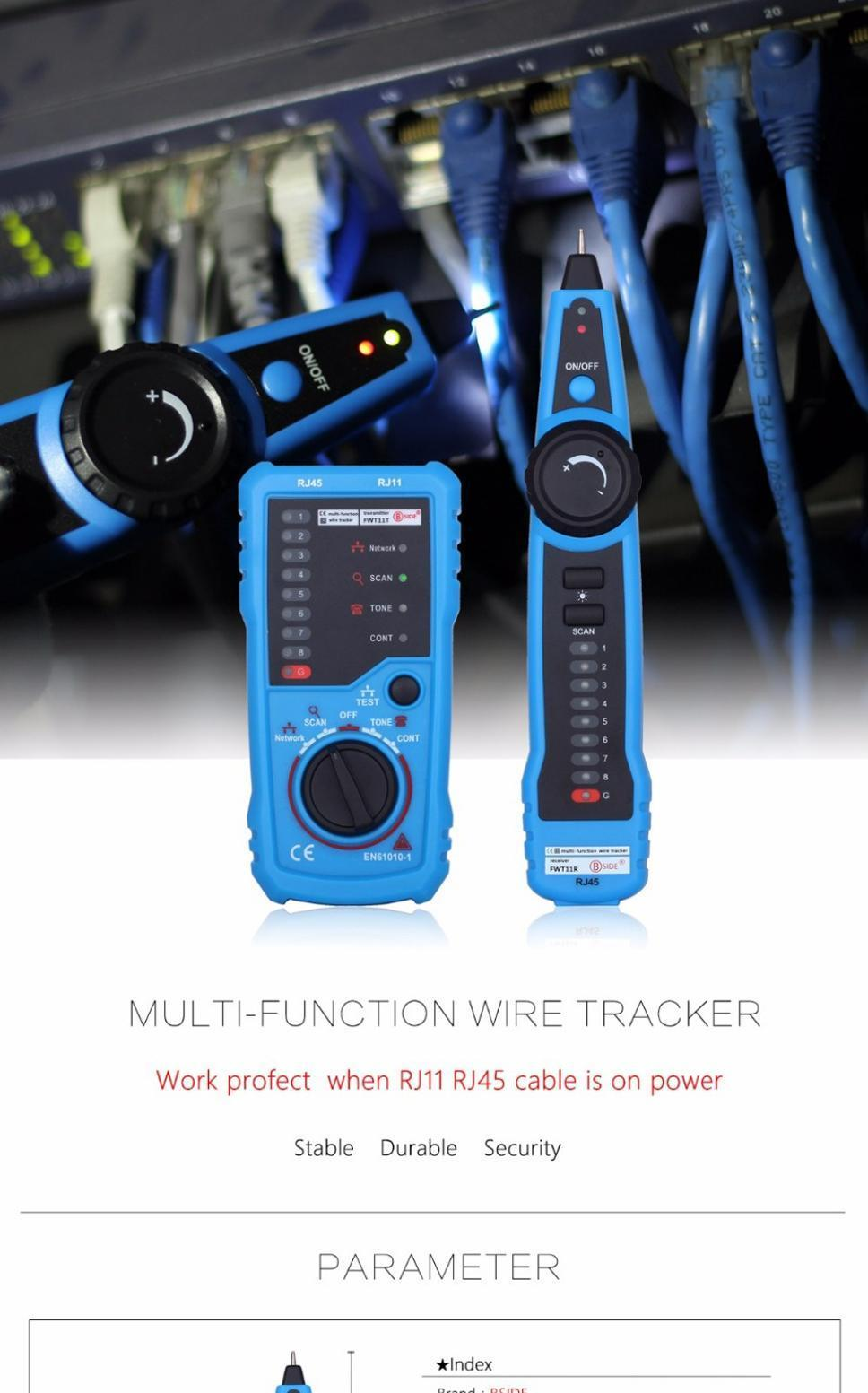 DIY & Tools Network Cable Tester RJ11 RJ45 Telephone Wire Tracker