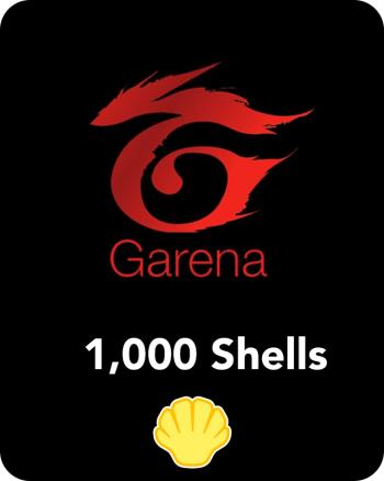 Garena 1000 shells (MY)- Email Delivery