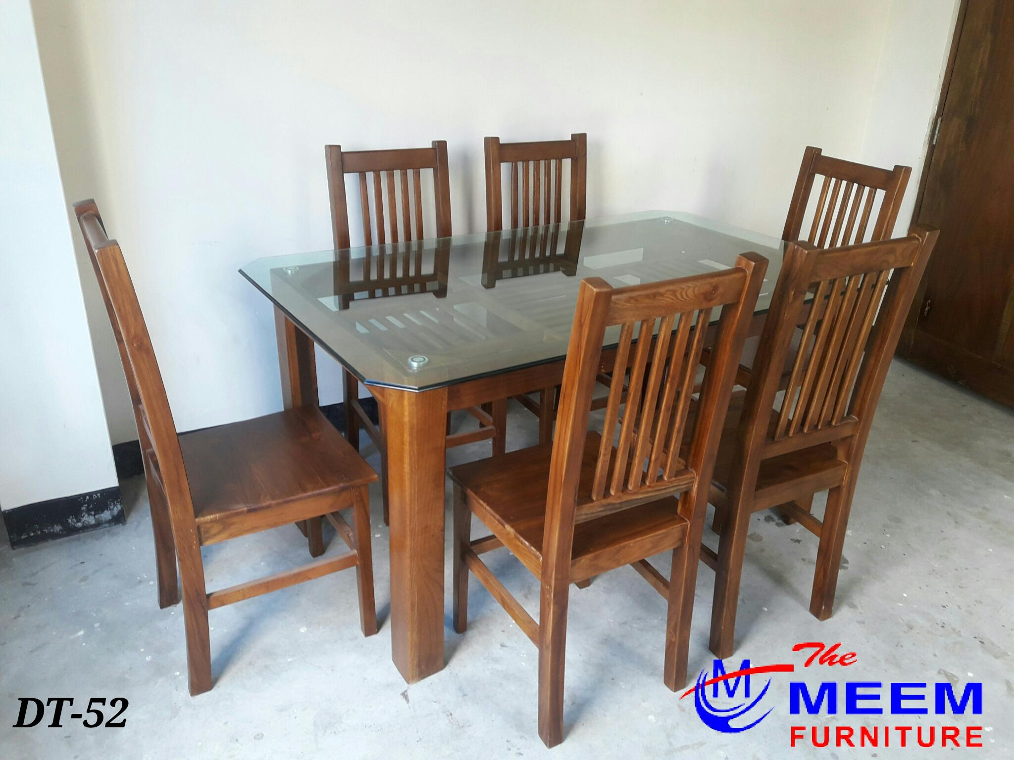 Dining Table With 6 Chair 5 X3 Full Ctg Segun Wood Buy Online At Best Prices In Bangladesh Daraz Com Bd