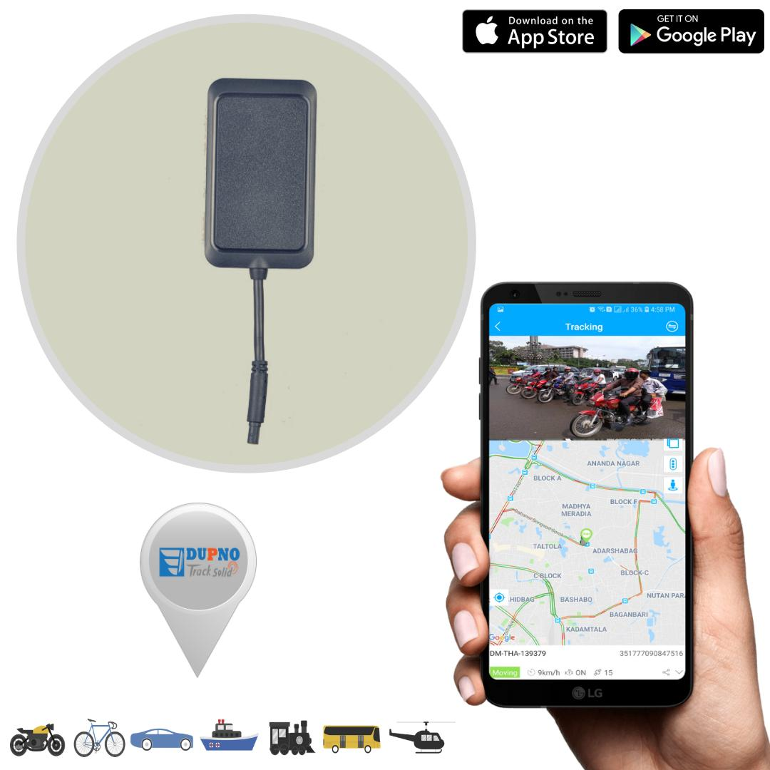 Dupno easy smart Motorcycle Tracking Devices